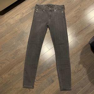 Liverpool Kaylee Skinny Jeans Gray 6/28 NWOT